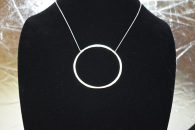 Amy Waltz Designs Sterling Silver inner circle necklace