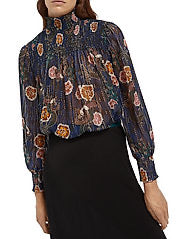Scotch and Soda Floral Smocked Top