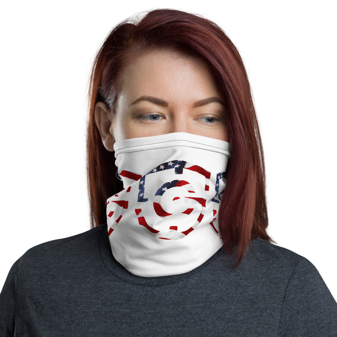 GunBacker American Flag Neck Gaiter/Face Mask