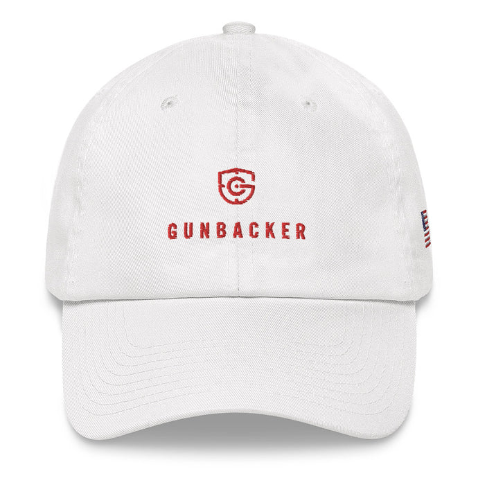 GunBacker (Red) Baseball Hat