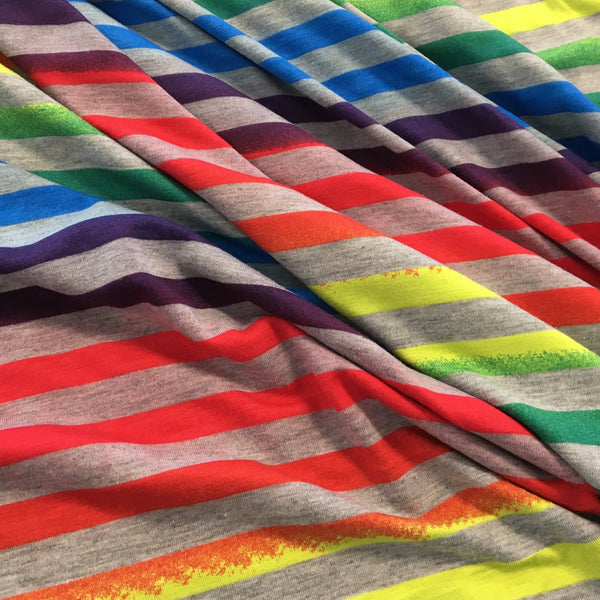 Z Rainbow Stripe Stretch