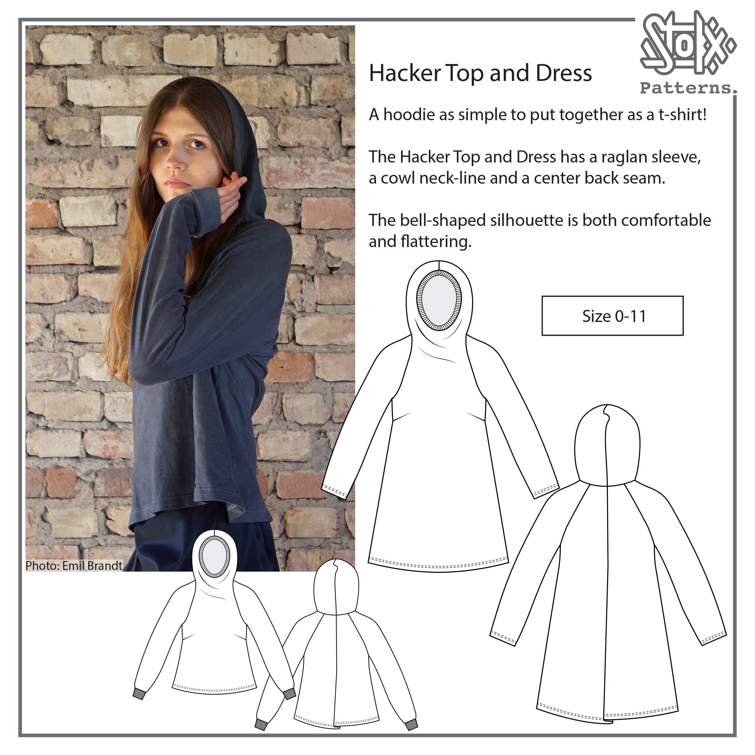 Hacker Top and Hacker Dress