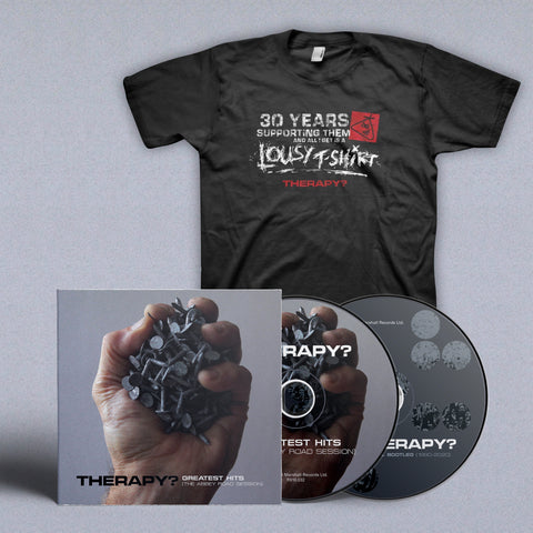 BUNDLE: Signed Double CD + T-shirt