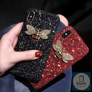 Buzzy Bee Luxe Glitter Bling Diamond Cases For Samsung A70 A7 A9 2018 A10 A20 A30 A40 A50 A6 Plus