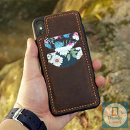 Card Slot Leather Phone Case For iPhone 11 Pro Max