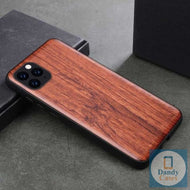 Carved Wood Phone Case For iPhone 11 Pro XR X XS Max 7 8 6 6s Plus