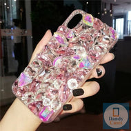 Chunky Crystal Gem Diamond Handmade Faux Stone Case For iPhone 11 Pro X XS MAX XR 5S 6S 7 8 PLUS