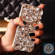 Crystal Diamond Case Cover For iPhone 11 Pro Max XS Max XR X 8 7 6S Plus and Samsung Galaxy Note 10 9 8 S10E S10 9 8 Plus