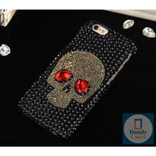 Load image into Gallery viewer, Crystal Skull Bling Handmade Phone Case for iPhone 5S SE 6 6S 7 8 Plus XR XS 11 Pro Max
