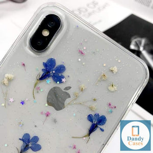 Real Dried Flowers Phone Case For iPhone 7 8 Plus X 11 Pro XR X XS Max 8 7 6S 6 Plus