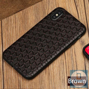 Real Leather Phone Case For iPhone
