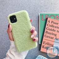 Woolly Plush Hand-Tufted Phone Cover For iPhone 7 8 6S X XR XS Max 11 Pro Max 7 Plus