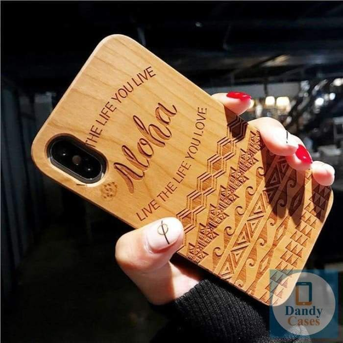 Wood Phone Case at Dandy Cases