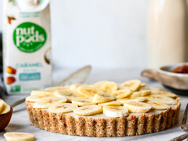 Caramel Banana Cream Pie (No Bake)