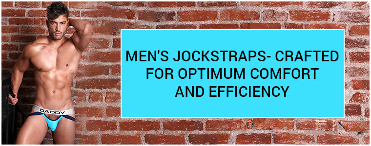 Men's Jockstraps- Crafted for optimum comfort and efficiency