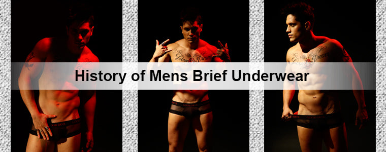 History of Mens Brief Underwear | Erogenos