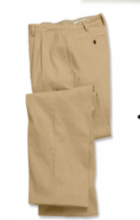 Plated, ill-fitted pants