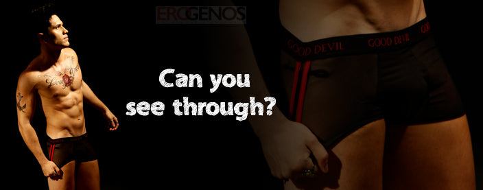 Why Opt for Men's See Through Underwear | Erogenos