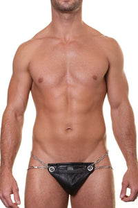 Modus Vivendi 11013  Leather Chained Jock