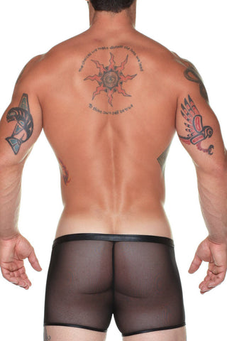 Male Power 152-004  Stretch Mesh Ring Short