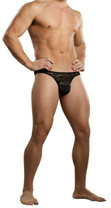 Male Power 442-162  Bone Thong Stretch  Lace