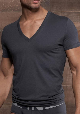 C-IN2 6366829  Prime Deep V-Neck Shirt
