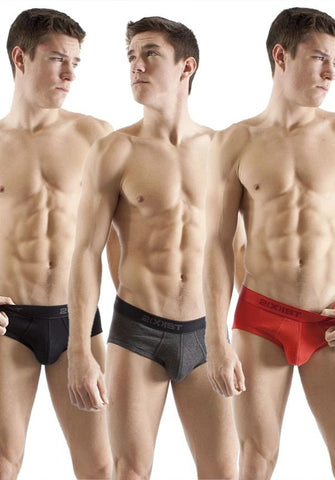 2xist 6403821  3 Pack Essential Contour Pouch Brief