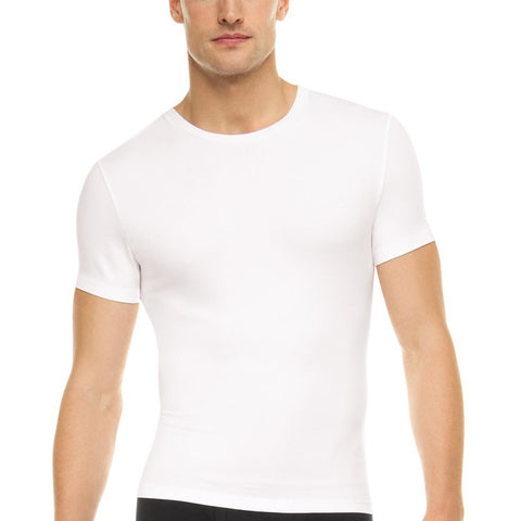 Spanx Cotton Compressed Crew Neck