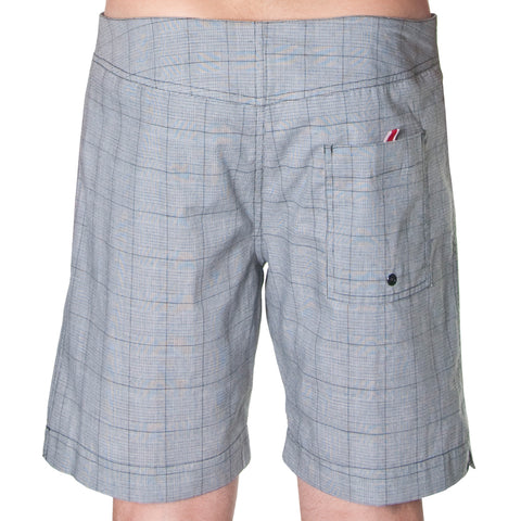 Andrew Christian ACPOOL Poolside Swin Shorts Grey plaid