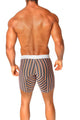 Agacio AG5925  Long Boxer Horizontal Stripes