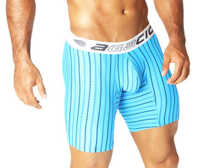 Agacio AG5934  Long Boxer Horizontal Stripes