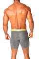 Agacio AG5937  Long Boxer Horizontal Stripes