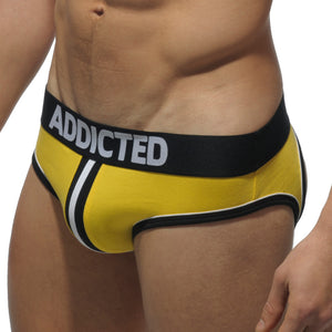 Addicted AD305 Double Piping Bottomless Brief