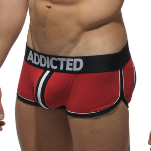 Addicted AD306 Double Piping Bottomless Boxer