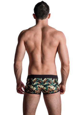 Bottomz Up Male BMT6 Power Mesh Trunk With C-Ring