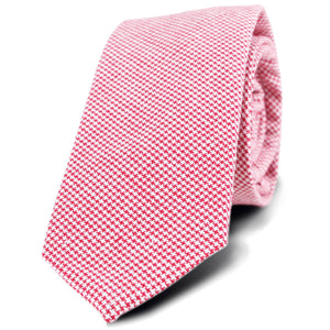 DHA1 HSNT01 Houndstooth Neck Tie