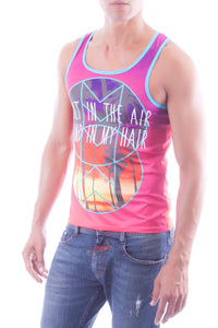JOR JOR0107 Palms Tank Top
