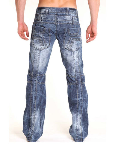 Nuwear KM414  Light Wash Designer Jean