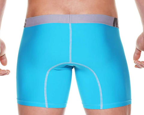 Male Basics MBM-002  Microfiber Long Boxer Brief