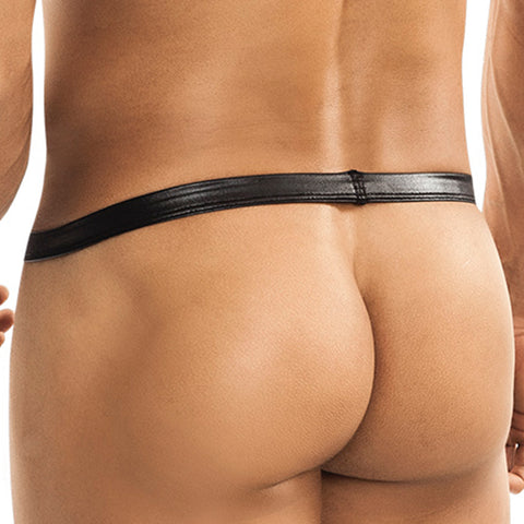 Miami Jock MJ40112 Metal Cockring With Detachable Whip