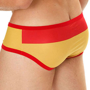 Mensuas MN0837 Spain Flag Brief
