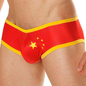 Mensuas MN0839 China Flag Brief