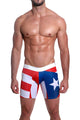 Mensuas MN0868 Puerto Rico Flag Long Boxer
