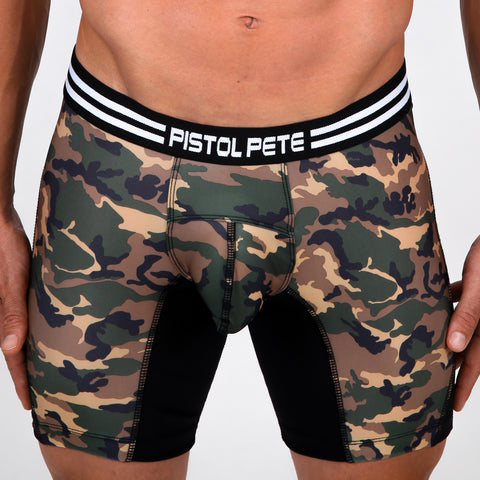 Pistol Pete PPCS418-216 COMMANDO Compression Short