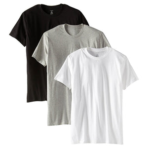 Calvin Klein U9001-MP1 3 Pack Crew Neck T-Shirt
