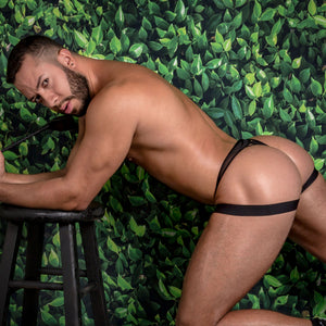 Daddy DDK030 Black Widow Thong