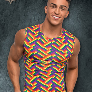 Male Power 113240 Pride Fest Fitness Tank