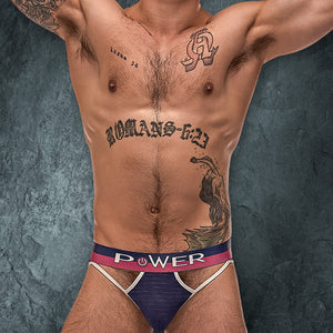 Male Power 237246 French Terry Cutout Thong