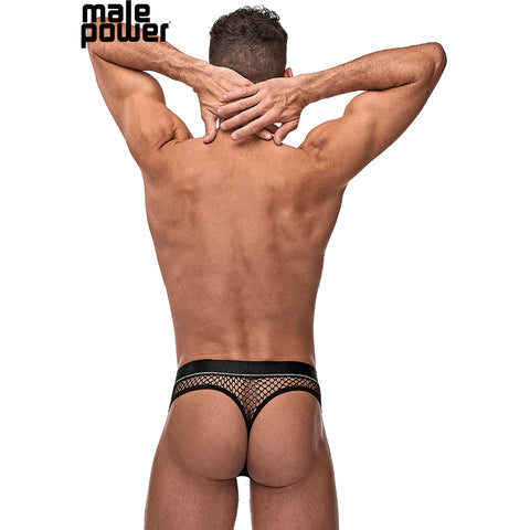 Male Power 410260 Cock Pit Net Cock Ring Thong