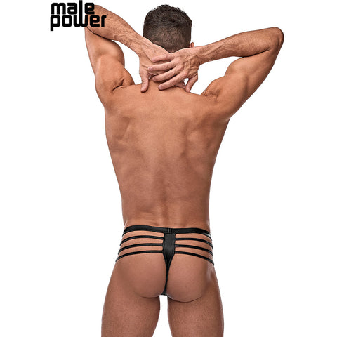 Male Power 417261 Cage Matte Thong